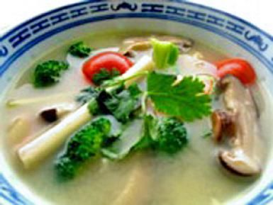 Keep it Super Healthy with Soothing Vegetarian Tom Yum Soup: Vegetarian Tom Yum Soup (also vegan and gluten-free!)