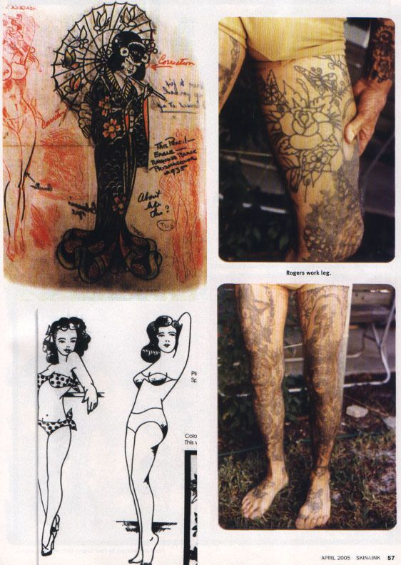 good stuff.. THE FOREFATHERS OF AMERICAN TATTOOING: Cap Coleman & Paul Rogers