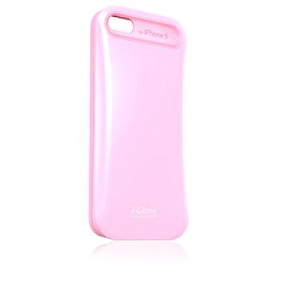 Накладка #iGlow для #iPhone 5 розового цвета. Для настоящих #модниц!