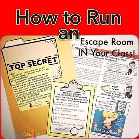 76 Best Escape Classroom Ideas Images On Pinterest