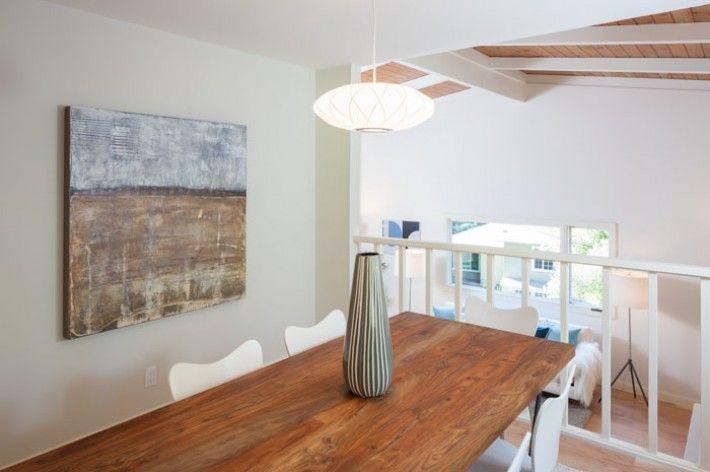 A light, bright mid-century home | Visual Jill | George Nelson Saucer Criss Cross Lamps | http://modernica.net/saucer-cc-lamp.html