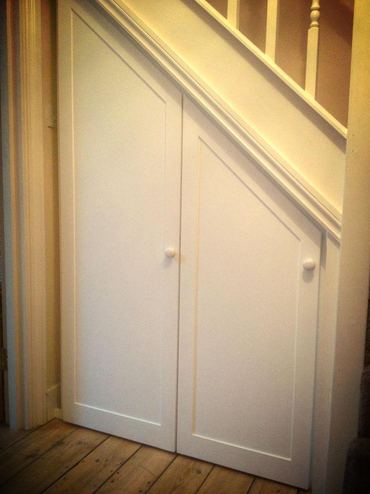 Understairs storage. Simple and clean