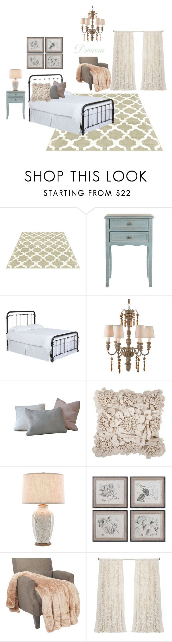 """""""Country dream"""" by rnegyongyi on Polyvore featuring interior, interiors, interior design, home, home decor, interior decorating, Safavieh, Aidan Gray, Surya and country"""