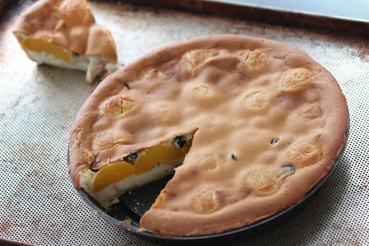 Peaches and Blueberry Pie, torta speciale per la Festa della Mamma
