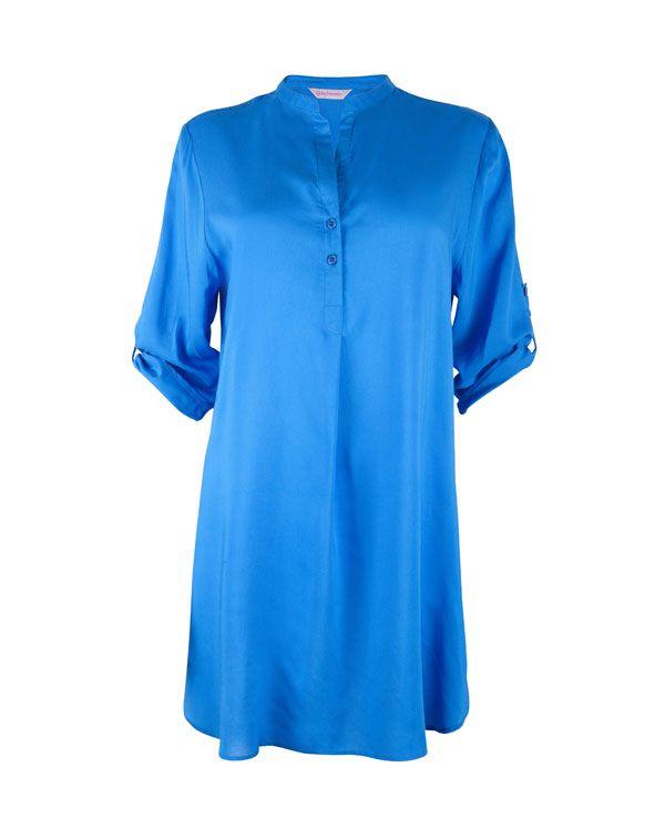 Rebecca Blue Woven Nightshirt £27.00