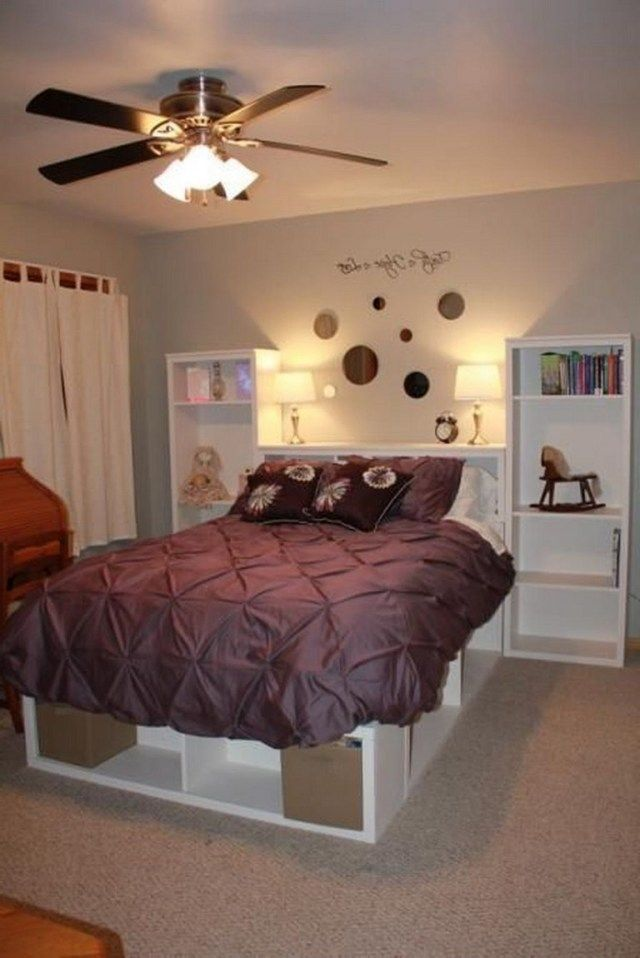 40 Admirable Rustic Storage Bed Design Ideas Page 13 Of 40 Bed Designs With Storage Rustic Storage Rustic Storage Bed