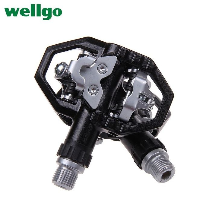 Original Wellgo Bearing Aluminum/alloy Bike Pedals Bicycle Pedales MTB Parts Spd Repuestos Bicicletas Ciclismo Time-limited