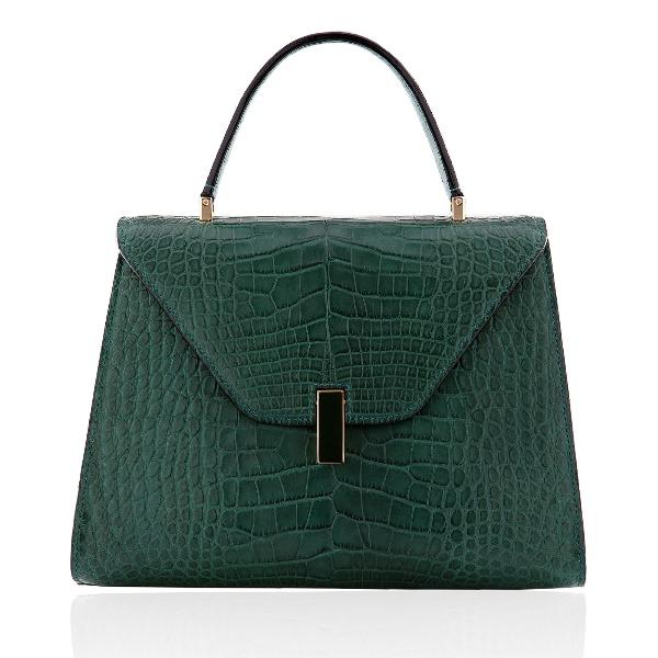 Valextra Green Alligator Isis Bag Lady Pinterest Bags Handbags And Purses