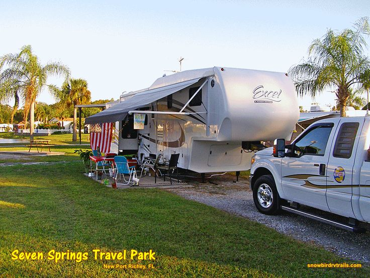 Seven Springs Travel Park In New Port Richey Florida Nice Winter Quarters Http