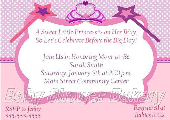 printable princess baby shower invitation princess baby shower invit