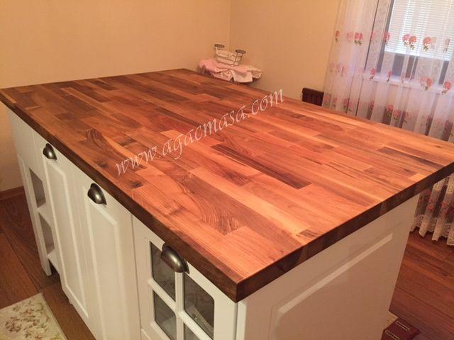 Ahşap mutfak tezgahı / Bilenor Orman Ürünleri San. ve Dış Tic. Ltd. Şti.
