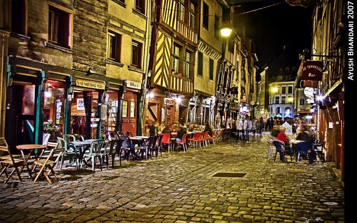 Rennes, Rue de la Soif