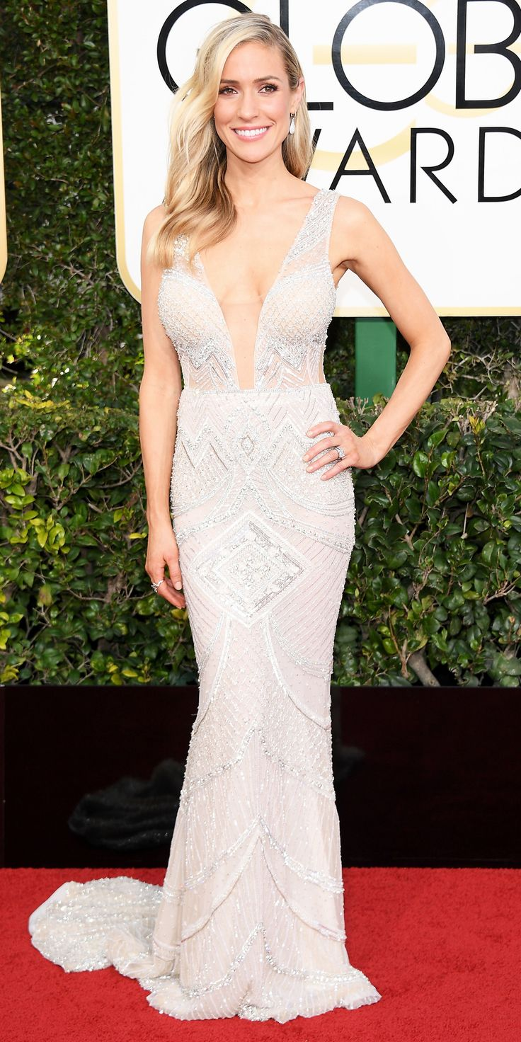 KRISTIN CAVALLARI - all the Glamorous Looks from the 2017 Golden Globes Red Carpet - Kristin Cavallari from InStyle.com