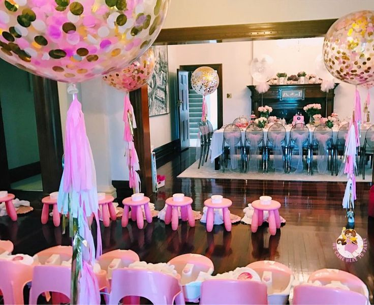 """45 Likes, 8 Comments - We Came Here To Party (@wecameheretopartyaus) on Instagram: """"🌸Welcome to Zoe's Princess Pamper + High Tea birthday🌸 A full view of our customised princess…"""""""