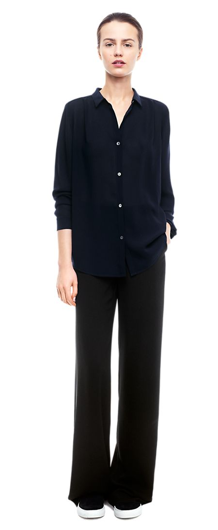 Crepe Blouse - Blouses - Shop Woman - Filippa K