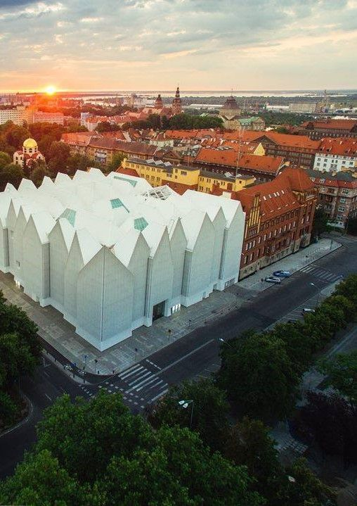 Concert Hall in Szczecin Poland
