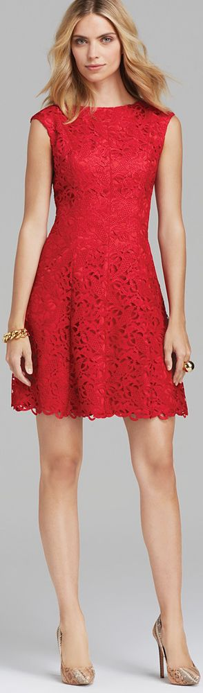 17 Best ideas about Red Lace Dresses on Pinterest | Vintage party ...
