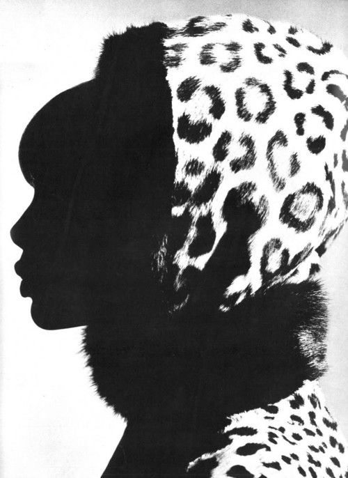 Britt Ekland by David Bailey for Vogue UK, December 1965