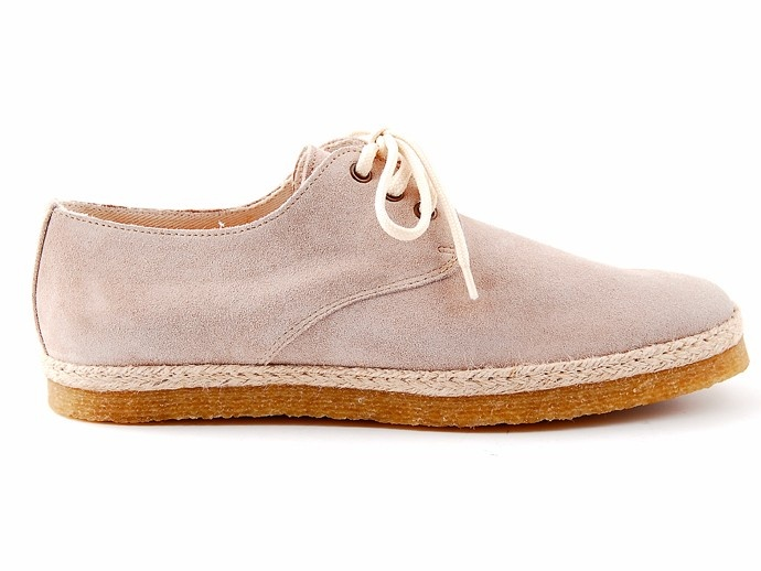Forfex -- Manuela __ suede & rubber sole; made in Italy