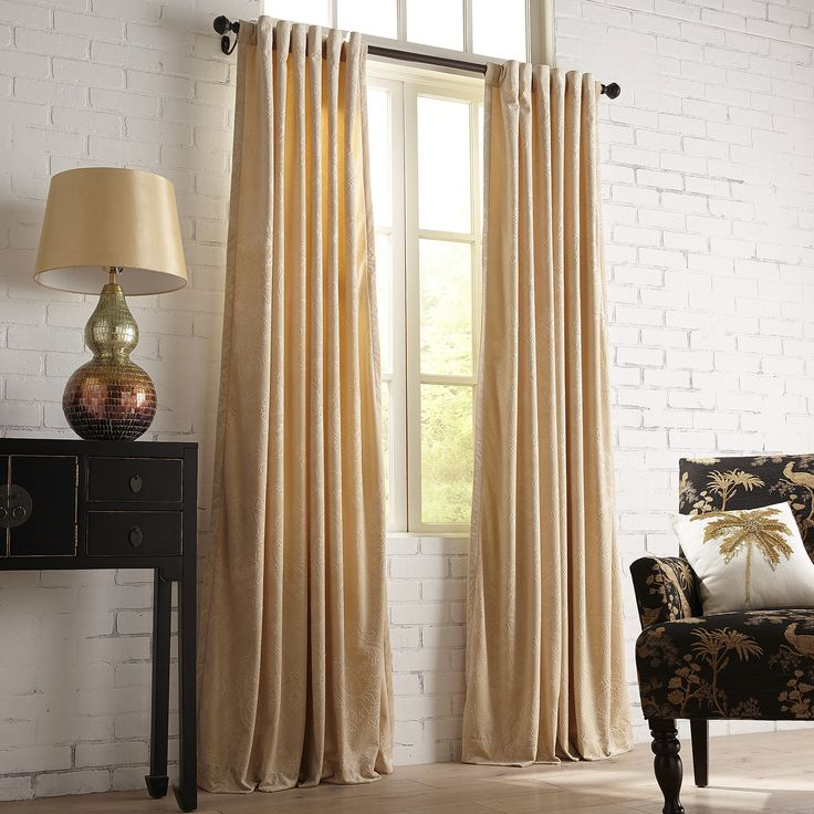 1000 Ideas About Gold Curtains On Pinterest Couch