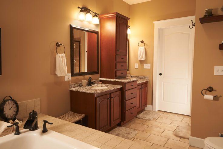 28 best bathroom cabinetry images on pinterest bathroom for Amazing master bathroom designs
