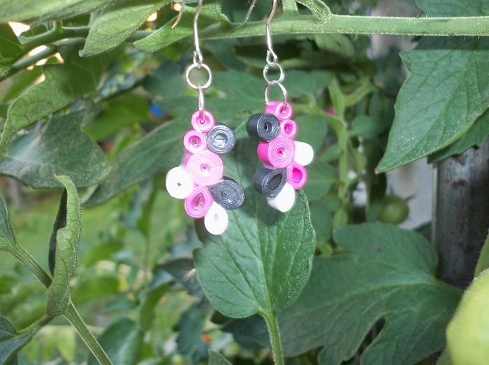 Quilling ->earring<-