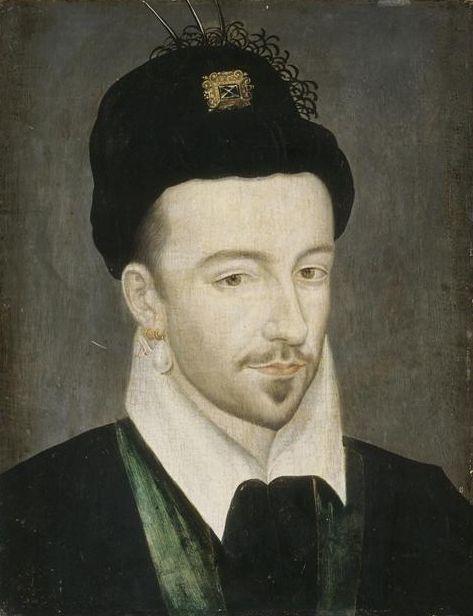 Henri III est né à Fontainebleau en 1551, mort à Saint-Cloud en 1589, Henri duc d'Anjou, dernier des Valois, troisième fils d'Henri II et de Catherine de Médicis et frère de Marguerite de Valois, de Charles IX et de François II. Le 13 février 1575 il est sacré roi à Reims sous le nom d'Henri III. Il se marie le 15 du même mois à Louise de Vaudémont.