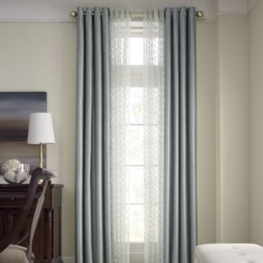 Royal Velvet 174 Plaza Grommet Top Lined Blackout Curtain