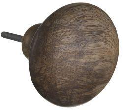 Madam Stoltz / Nábytková úchytka Wood 7,5cm