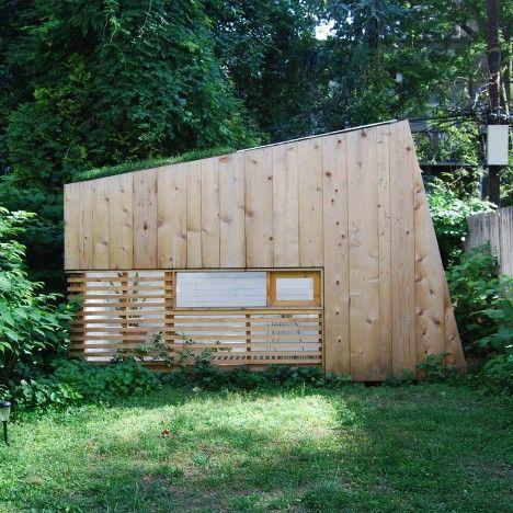Brooklyn Garden Studio by Hunt Architecture