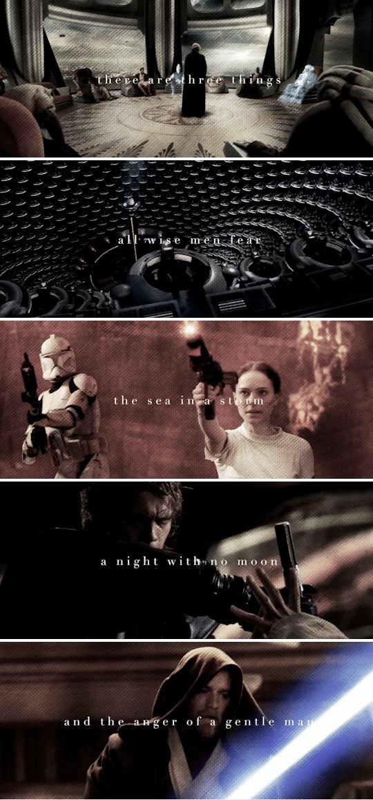 In a fight, they're lethal. But around each other, they melt. #sw