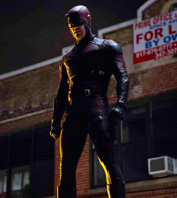Daredevil's live-action costume.