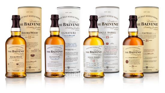 Balvenie Whisky designed by Here Design.