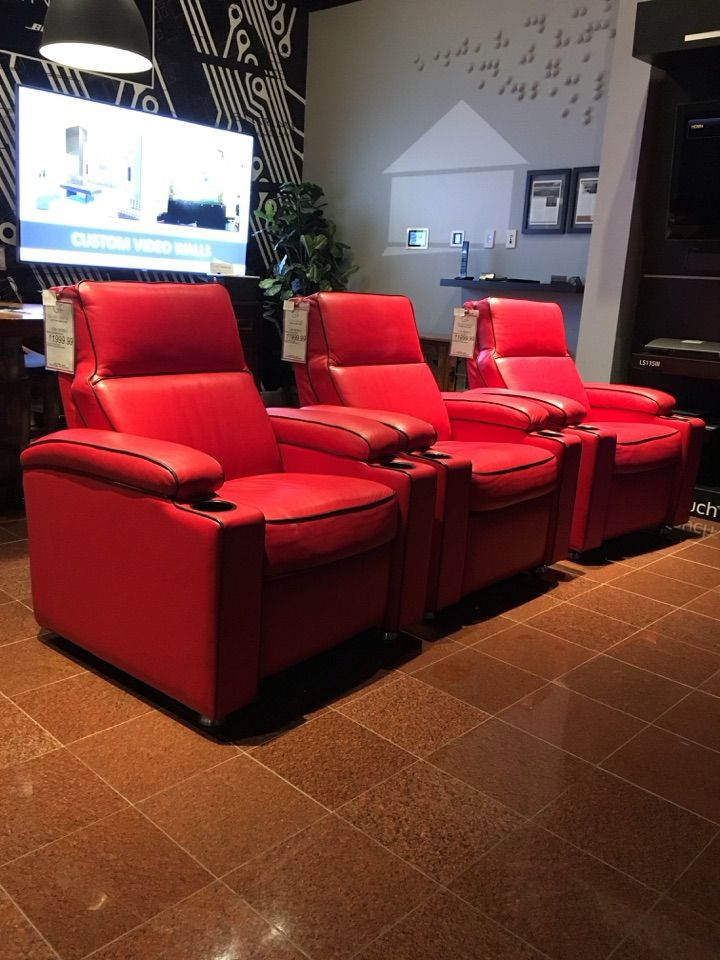 Sit back  relax  and sink into the plush cushions of the most comfortable home  theater furniture  as you enjoy the big game with friends and family. 56 best Home Theater   Game Room images on Pinterest   Home