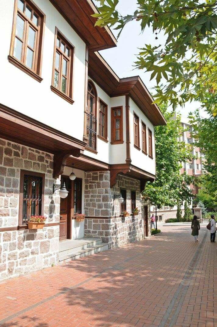 Ankara hamamönü evleri