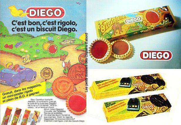 Et les bonnes tartelettes Diego, fraise ou abricot si sucrées que j'en avait des brûlures d'estomac...mais je suis si gourmand!