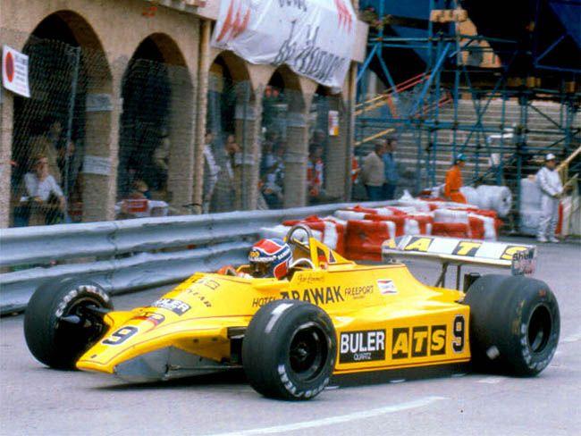 1980 Monaco ATS D4 Jan Lammers