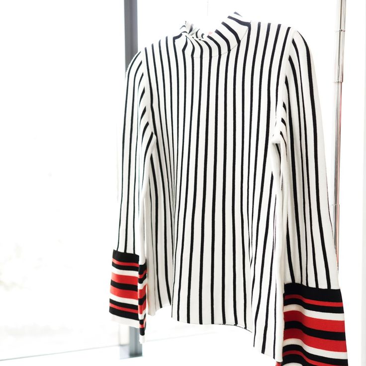 Banana Republic x Olivia Palermo—mix up your closet with this head-turning striped top from our Global Style Ambassador's capsule collection. Shop this style and more from the collection exclusively at Banana Republic.