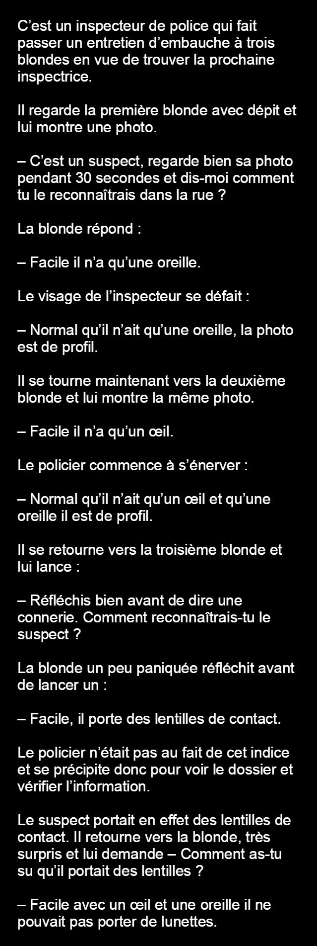 Origine des blagues blonds