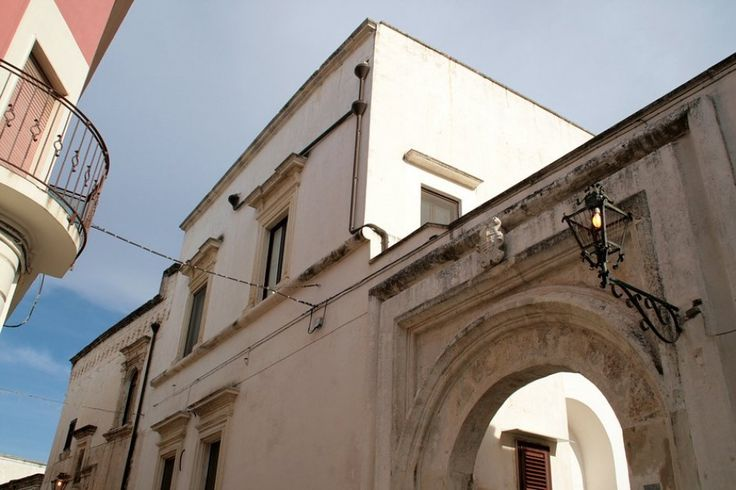 Italian ancient palazzo for sale in one of the most important historic centre of Puglia in Italy, Nardò. The palazzo first entrance is throught an imponent old stone arch to a typical private courtyard. The second entrance is from common courtyard shared with other property. This palazzo for sale in Puglia is dated back XV Century and it is recorded in the council registry of ancient properties with particular value. In 2001 the property has been meticulously restored.