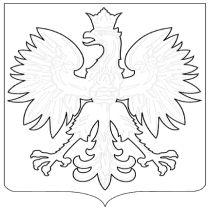 Godło Polski do kolorowania