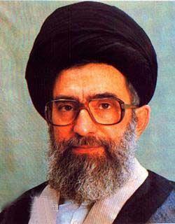 TOP ART -- Supreme Leader of Iran Grand Ayatollah Seyyed Ali Khamenei Portrait oil painting -100% hand painted art free shipping