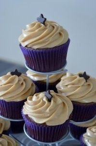 Cupcake Nutella, topping mascarpone Speculos