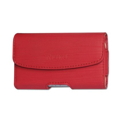 HORIZONTAL POUCH HP1025A BLACKBERRY 8830 RED 4.30 X 2.40 X 0.60 INCHES