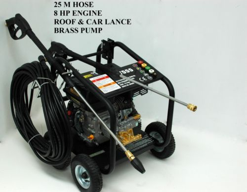 NEW-JET-555-HIGH-PRESSURE-WATER-WASHER-CLEANER-8-HP-SELF-SUCTION-GURNEY
