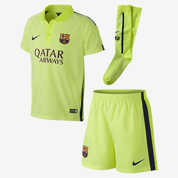 bbf193e6e93 ... spain nike fc barcelona little boys third kit la liga spain boys logos  luis suarez barcelona