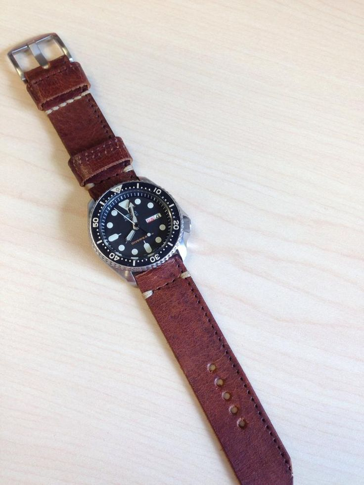 Leather Strap for SKX007 (not too thick / smallish wrist)--Advice please - Page 2