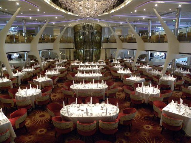 Celebrity Silhouette - Grand Cuvee Restaurant - Celebrity Silhouette (c) Linda Garrison