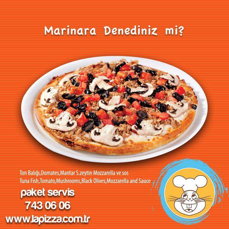 Ton balığı, domates, mantar, siyah zeytin, mozorella ve muhteşem sosuyla Marinara Pizza'mızı denediniz mi?  İster internetten tıkla ister telefonla ara lezzet hemen kapına gelsin!  #lapizza #manavgat #pizza #marinara #balıklıpizza #tonbalıklı #tonbalığı #paketservis #onlinesipariş #kapıdaödeme #mükemmellezzet #lezzet #bitıkla