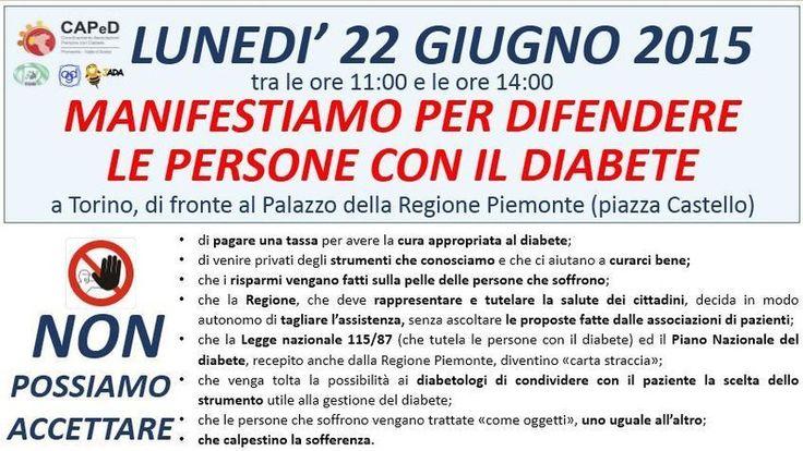 """Petizione · 280.000 diabetici in Piemonte vi chiedono di salvare il loro futuro: Non accettare la """"Proposta di accordo triennale su modalità distributiva DPC e presidi integrativa"""" del 05/06/20015 . protocollo n 11084/A14000 · Change.org"""
